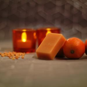 Après shampoing solide mandarine