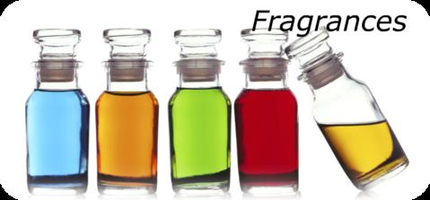 Fragrances cosmétique divers types
