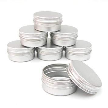 Matériel de fabrication : Pot aluminium baumes 10ml